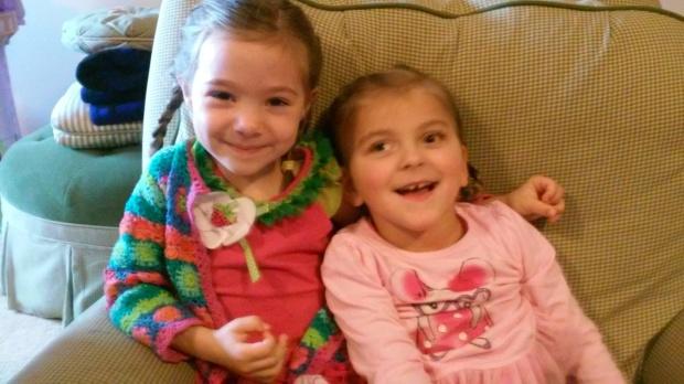 Brielle and Abby...BFFs!!